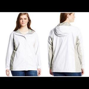 Women's Columbia plus size Arcadia II Rain Jacket